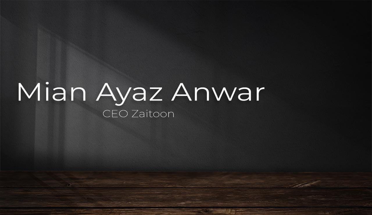 A significant number of the wealthiest and esteemed people today have made their fortunes in this sector, such as Mian Ayaz Anwar himself.